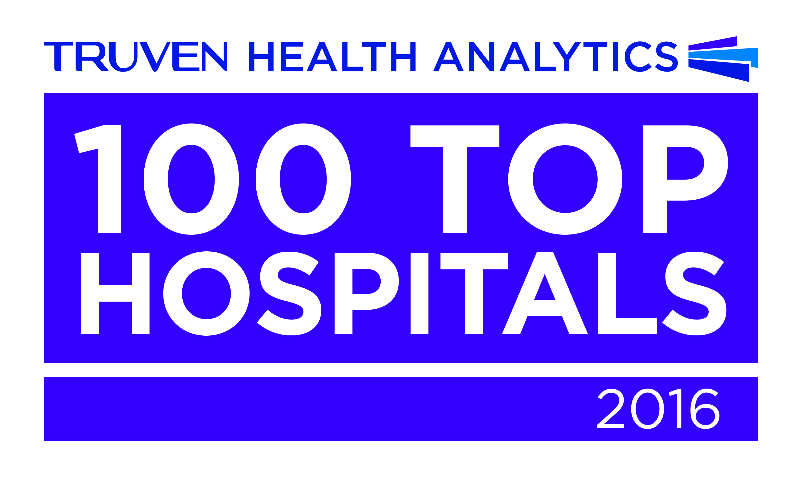 Truven 100 Top Hospital 2016 logo