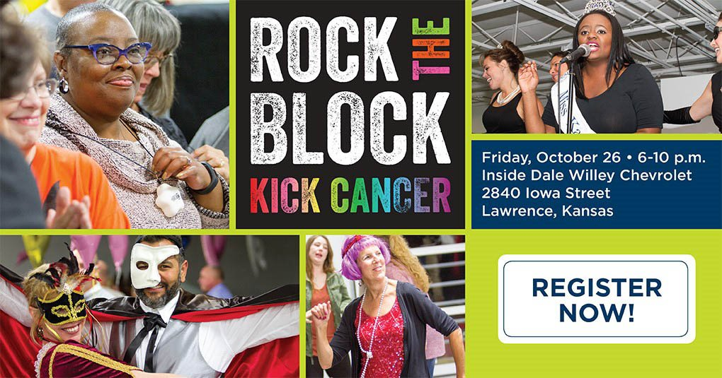 Rock the Block Kick Cancer