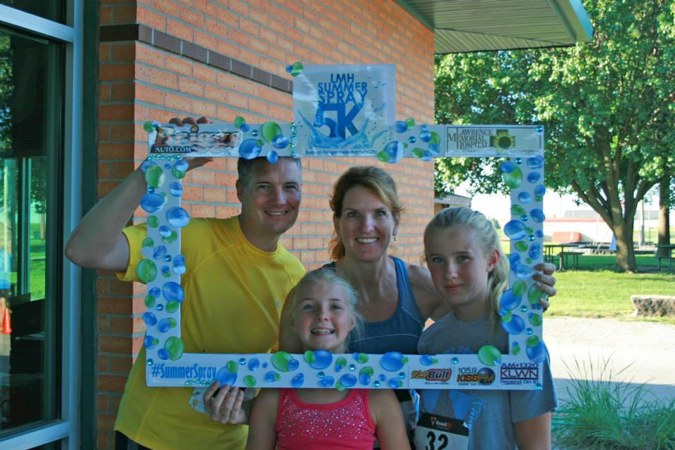 The 2015 LMH Summer Spray 5K in Eudora provided a morning filled with water and fun.