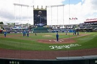 KC Royals Crown seats view