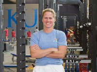 KU Strength Coach, Andrea Hudy