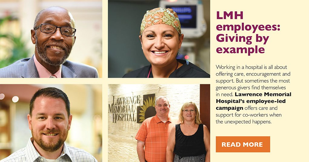 LMH Employees: Giving by example